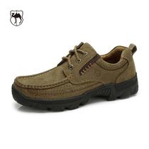 西域男鞋 2013骆驼正品 真皮磨砂牛皮 超舒适男士日常休闲鞋皮鞋 价格:269.70