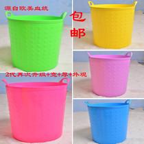 普兰尼洗澡桶大号环保储水桶塑料泡澡桶婴儿儿童洗澡桶沐浴桶特价 价格:35.00