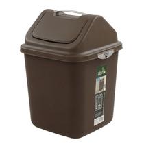 飞达三和手拎摇盖日式翻盖卫生摇盖式桶盖塑料时尚创意家用垃圾桶 价格:20.53