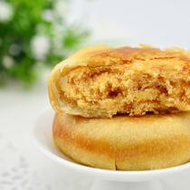 【爱团网推荐】12颗装传统糕点零食品 肉松月饼 南萃坊金丝肉松饼 价格:9.90