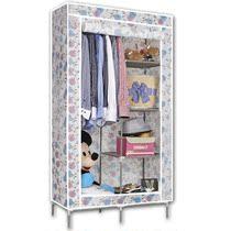 地球人DWB-5088 时尚折叠加固钢架学生布衣柜 简易小号布衣橱特价 价格:88.00