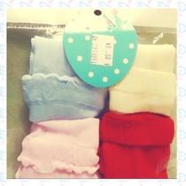 艾贝乐 0-3岁宝宝 四季均码 糖果中筒袜 4双装 限购一件多拍不发 价格:3.99