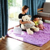 特价奥贝特140*200长毛客厅地毯茶几垫 儿童地毯卧室床边毯 包邮 价格:77.40