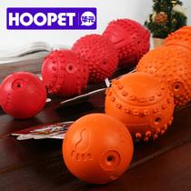 益智磨牙耐咬狗狗咬球玩具 宠物橡胶球 发声咬胶弹力空心狗狗用品 价格:19.30
