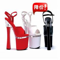 现货狂甩 15cm/18/20厘米超高跟凉鞋 韩国李贞贤酒杯跟舞台演出款 价格:200.00