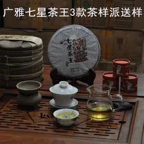 【多卿茶业—广雅新茶上市派样活动】3款七星茶王茶样 品鉴变化 价格:10.00