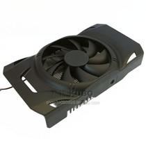 迪兰恒进 HD6770 6750 显卡风扇 43/53双孔距 9CM风扇 显卡散热器 价格:18.00