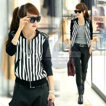七十二变[BM13520]2013秋装新款女装皮衣女外套长袖女士秋衣外套 价格:151.20