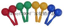 金宝贝早教环保无毒 幸福豆:奥尔夫乐器塑料沙锤(大号)砂槌沙球 价格:3.00