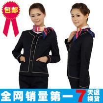 中国移动工作服女制服营业厅服装移动女营业员 裤子衬衫特价包邮 价格:101.00