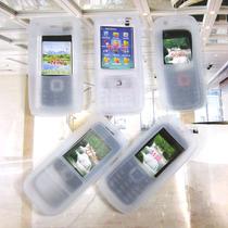 诺基亚N72保护套N73  5130白硅胶套 5320手机壳软质 价格:5.00