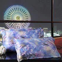 润美 重磅纯真丝枕套100桑蚕丝单面美容丝绸单人枕头套 一对包邮 价格:76.00