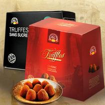 【2013新品】西班牙进口德菲丝/斯黑松露巧克力 红色激情1000g 价格:89.00