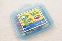 【促销】正品新嘟哩18色油画棒 儿童绘画工具 塑料包装 幼儿美术 价格:13.00