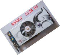 旌宇SPARKLE 9800GT DDDR3 真实512M 价格:300.00