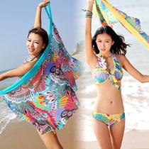 华尔特2013新款13003裙式分体比基尼三件套泳衣女钢托聚拢泡温泉 价格:80.00