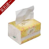 清风花韵系列双层200抽面巾纸餐巾纸抽纸手帕纸软包装B338RCM单包 价格:3.30