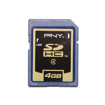PNY 必恩威 SD 4G SDHC 存储卡 内存卡 相机卡 SD卡 插卡音响SD卡 价格:35.00