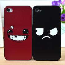新款情侣iPhone5手机壳苹果个性iPhone4s手机壳苹果4手机壳潮男女 价格:28.00