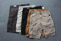 出口单 超值短裤 CLOCKHOUSE男士水洗工装短裤 男款水洗工装中裤 价格:55.00