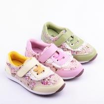 2013秋新款韩国版童鞋小花蕾丝女童运动鞋儿童淑女板鞋 软底 价格:92.82