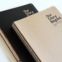 韩国加厚空白本子 白纸+牛皮纸 记事本 绘画素描本 速写本 涂鸦本 价格:9.80
