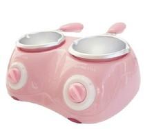 豪华双桶电动巧克力溶锅 熔炉 喷泉机 制作巧克力火锅,多色可选 价格:54.00