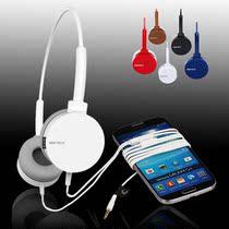 声丽ic2手机线控通话耳机带麦克风头戴式单孔笔记本电脑耳麦话筒 价格:59.00