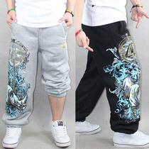 薄款阿姆潮男装嘻哈裤HIPHOP街舞服装运动绒裤休闲裤犀牛卫裤888 价格:58.00