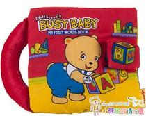 原包装美国softplay 忙碌的宝贝 小熊音乐布书/音乐书 价格:46.00