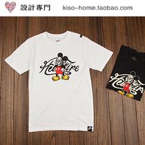 日单外贸 日系韩版 Love Machine 机械骷髅米奇男纯棉短袖T恤tee 价格:55.00