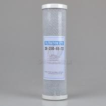 净水器 10寸CTO烧结活性炭滤芯 通用美的安吉尔纯水机过滤器滤芯 价格:7.00