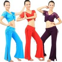 特价肚皮舞演出服装 瑜伽服练功服 肚皮舞套装 新款 练习套装 S28 价格:49.00