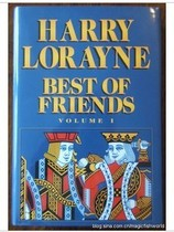 纸牌魔术书籍Harry Lorayne - Best of Friends Vol.1&2 价格:8.00