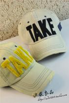 汐荻包邮韩版做旧牛仔字母棒球帽男女士夏天户外鸭舌帽潮情侣帽子 价格:24.50
