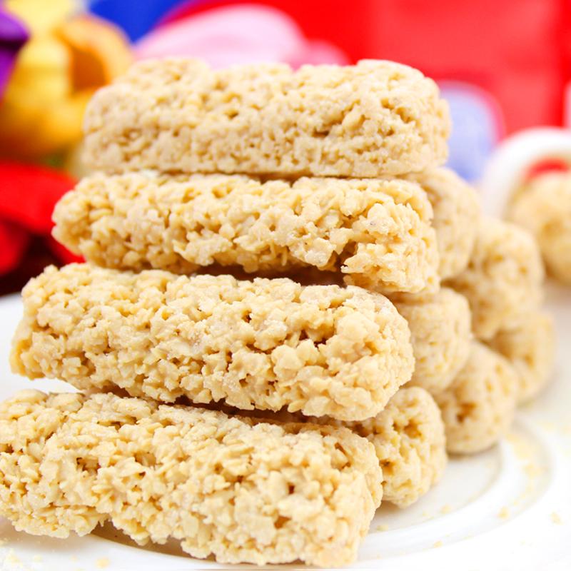 燕麦巧克力/好纯麦片亲家喜糖麦德糖客燕麦糖零食品500g 包邮特价 价格:10.80