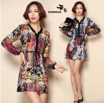 2013新款正品代购哥弟女士羊绒衫中长款修身大码女装毛衣连衣裙 价格:248.00