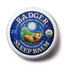 新品 Badger 贝吉獾 天然薰衣草佛手柑 安眠膏 21g 安睡到天亮 价格:48.00