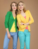 2013韩版女装新款V领纯羊绒开衫V领针织薄款防晒空调衫清仓包邮 价格:69.30