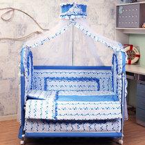 纯棉 布艺婴儿床宝宝床BB游戏童床 出口欧洲 时尚 无味 23省包邮 价格:659.00