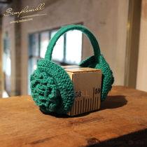 朴坊 手工毛线钩花玫瑰花图案女士耳罩/保暖耳套--多色 zakka杂货 价格:98.00