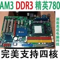 精英IC780M-A(V1.0)AM3 770 DDR3代主板支持AM3/X240 x640拼780G 价格:90.00