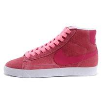 新款耐克女鞋正品专卖开拓者高帮板鞋韩版潮女士休闲鞋运动鞋粉红 价格:158.00