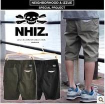 2013夏 余文乐 NHIZ izzue  NEIGHBORHOOD 机车系列男款短裤男裤 价格:45.00