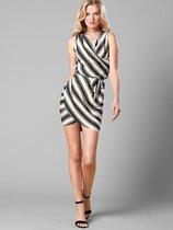 代购维多利亚的秘密夏装经典黑白条纹斑马纹时尚V领连衣裙297059 价格:800.00