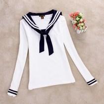 日韩校服套装 日本水手服 英伦学院派海军制服 女生班服长袖 短袖 价格:49.00