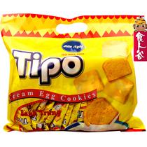 【零利润】原装进口零食品Tipo越南鸡蛋牛奶白巧克力面包干300g 价格:9.90