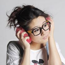 爆款2013 日韩可爱女超大耳套保暖 仿兔毛耳罩耳暖耳捂护耳玫红 价格:12.50