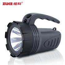 祖科zk2161手电筒强光充电探照灯家用进口LED远射手电正品防水 价格:59.34