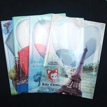 东方枫情16K彩色卡通图案塑料包书面纸 书皮纸书套263X187mm HD07 价格:0.80
